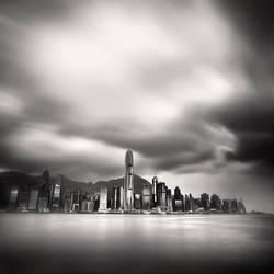 Hong Kong Skyline I by Jez92