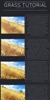Samooraii's Grass Tutorial! by Hevirago