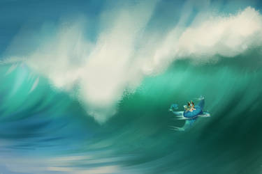 I'll make you fly [Treasure at Sea] by Hevirago