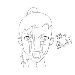 Rem IM BACK! line art by grumpygrunt17
