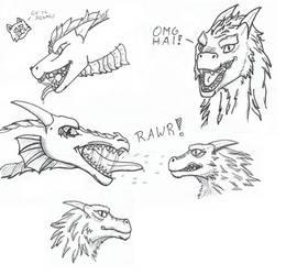 Dragons by marek276