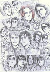 Frerard sketches by Silverleopard