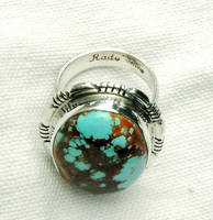 NATURAL ROYSTON TURQUOISE RING by FlagstaffTraders