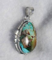 ROYSTON TURQUOISE PENDANT by FlagstaffTraders