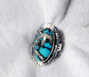 BISBEE TURQUOISE RING by FlagstaffTraders