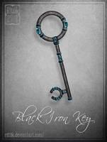 Black Iron Key by Rittik