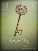 Bronze Key by Rittik