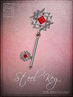 Steel Key by Rittik