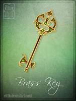 Brass Key by Rittik