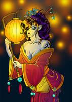 Raise the Red Lantern by Torukia
