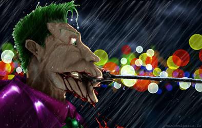 The Secret of the Joker' Smile by irissee