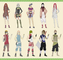Naruto Adopts-14 ( jinjuriki) (CLOSED) by Stsmirk