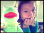 Kermit and I (: by littlemusicfreak