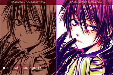 LELOUCH -what you feel?- by scarlet-xx