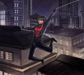 Night in Gotham by scarlet-xx