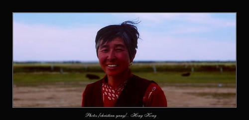 Sales Lady by causewaybay