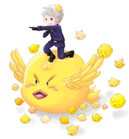 APH: BEHOLD my awesome gilbird army! by ChibiSo