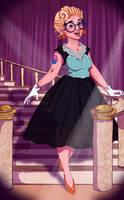 Miss O.C Round 1 : Penny Potts by Fidz