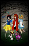 Fairytale trio by Naimane