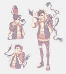 Demonic backpack by Naimane