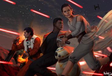 The Force Awakens by MeTaa
