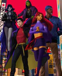 Teen Titans by MeTaa