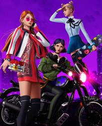 Powerpuff Girls by MeTaa