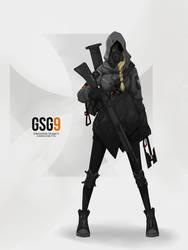 GSG9 by ChineseRobortKID