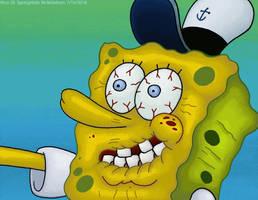 Spongebob. Shaking Hands. by Virus-20