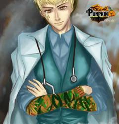 Pumpkin Online Entry - Takeo Tanaka by deviousXgirl