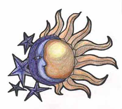 Sun Moon Stars By Mdngtrain On Deviantart