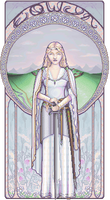 White Lady of Rohan by Elaitea