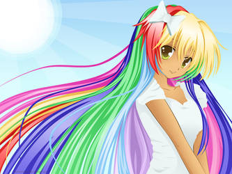 rainbows by Mikamichan