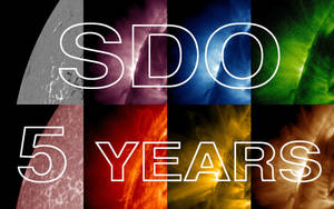 Happy fifth birthday to the Solar Dynamics Observ by eitv3