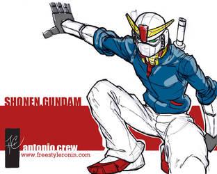 shonen.gundam by AC009