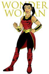 Wonder Woman.skratchwork by AC009