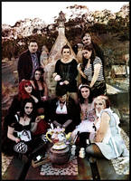 Grotesque Teaparty by requiemforafirefly