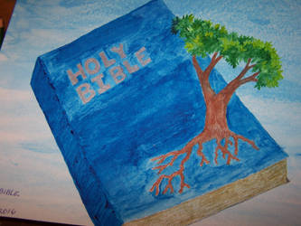Rooted in the Bible. In watercolor. by coffeecrazy1958