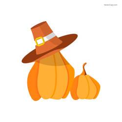 Thanksgiving pumpkin by vectorcopy