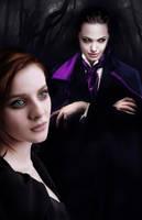 Vampire Angelina Jolie by David-Zahir