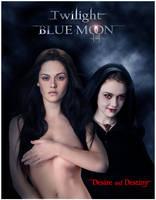 Twilight Blue Moon by David-Zahir