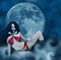 Vampi By Moonlight by David-Zahir