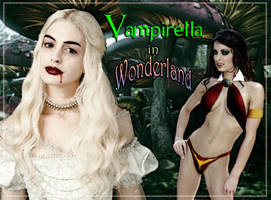 Vampirella in Wonderland by David-Zahir