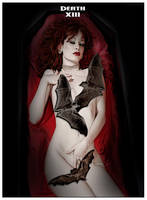 Vampire Tarot Death by David-Zahir