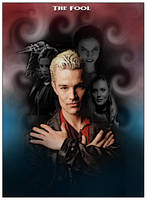 Vampire Tarot Fool by David-Zahir