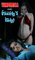 Vampirella Visits Gilligan's Island by David-Zahir