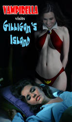 Vampirella Visits Gilligan's Island by David-Zahir