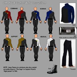 CHRONICLE.uniforms.starfleet by David-Zahir