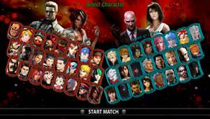 Square vs Capcom - My Roster by DENDEROTTO