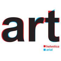 Helvetica vs Arial by harajukumatt